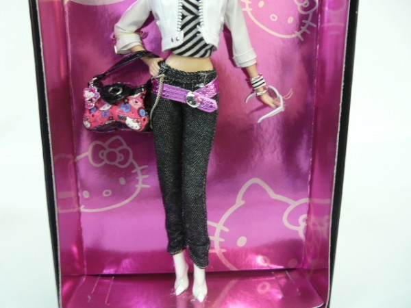 Hr49 Matel マテル Barbie Collector lPink Label Hello Kitty バービーキティドール バービーコレクター ピンクラベル L4687_画像4