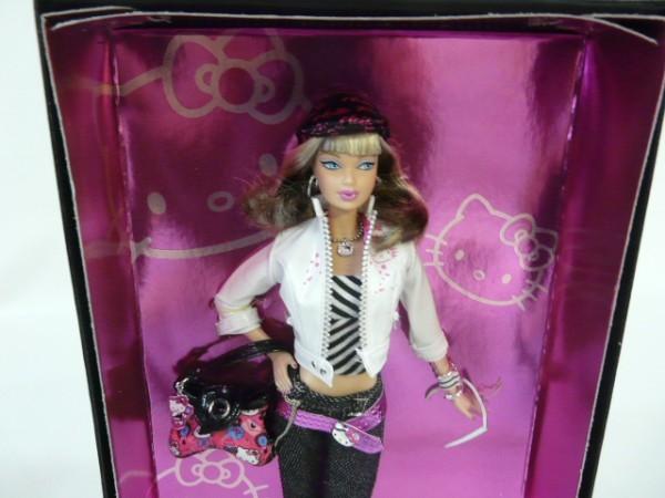 Hr49 Matel マテル Barbie Collector lPink Label Hello Kitty バービーキティドール バービーコレクター ピンクラベル L4687_画像3