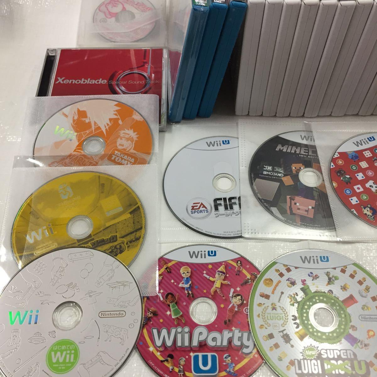【ジャンク】任天堂Wii WiiUソフトまとめ売り ソフト大量 ニンテンドー ゲームキューブソフト Wiiパーティ はじめてのWii_画像2