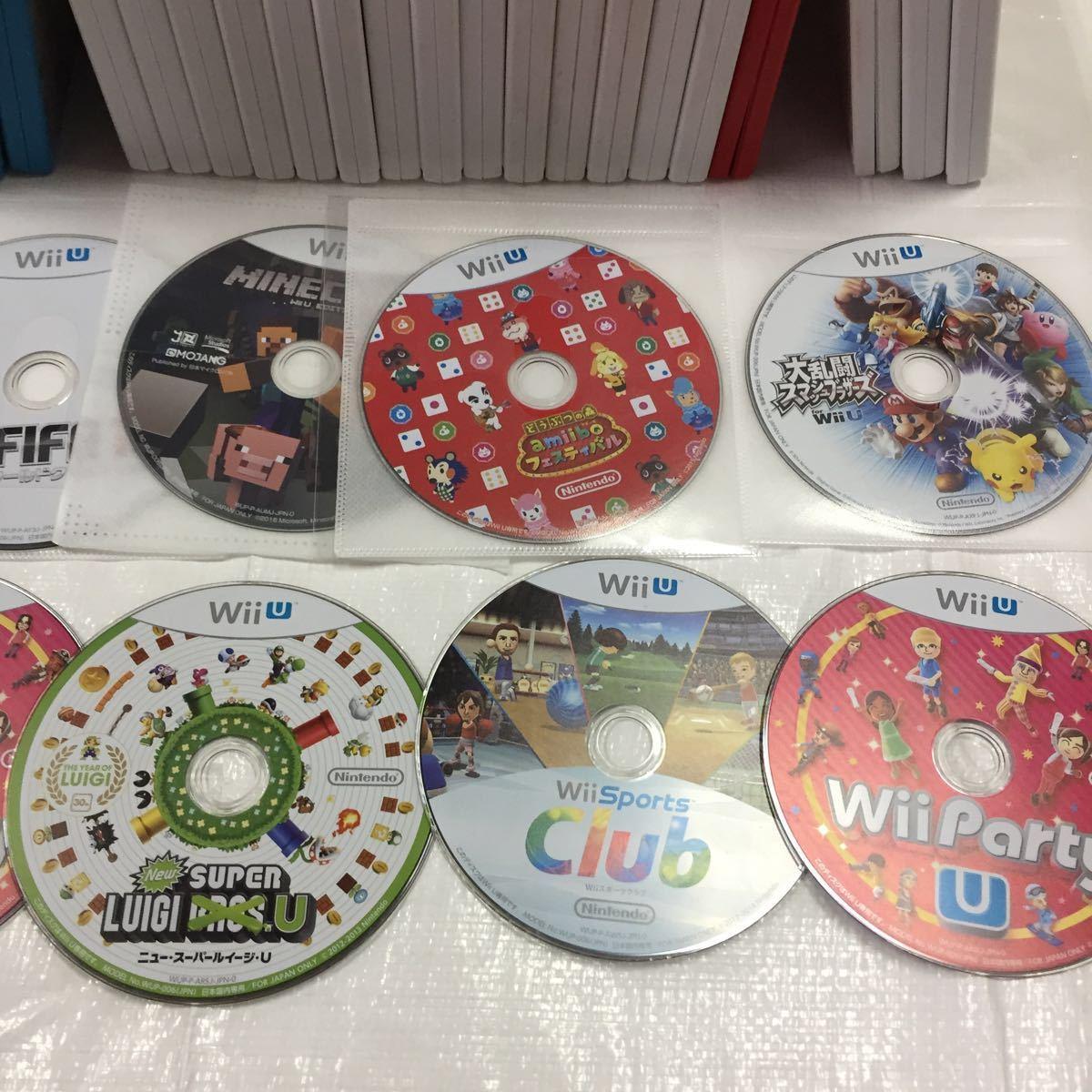 【ジャンク】任天堂Wii WiiUソフトまとめ売り ソフト大量 ニンテンドー ゲームキューブソフト Wiiパーティ はじめてのWii_画像3