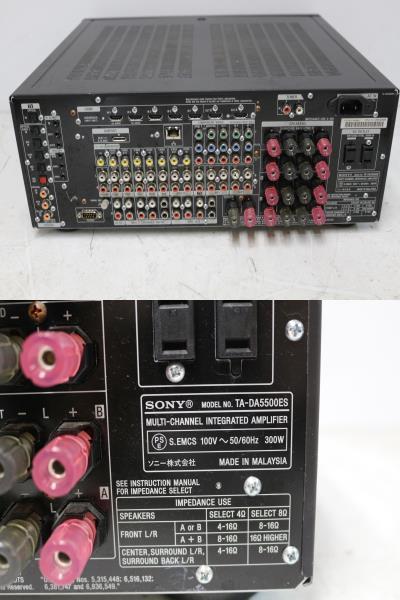4060 SONY AVアンプ TA-DA5500ES_画像2