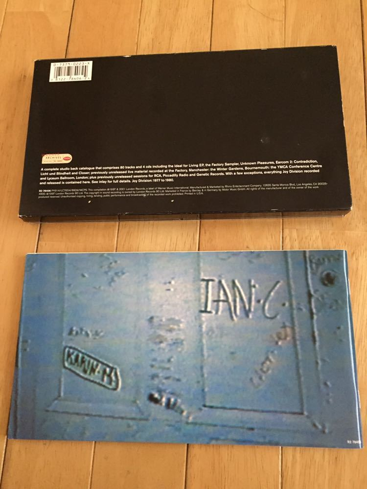 NEW ORDER 前身バンド Joy Division 4枚組 BOX SET Heart and Soul イアン・カーティス 貴重 12インチヴァージョン 未発表曲 ライブ音源_画像3