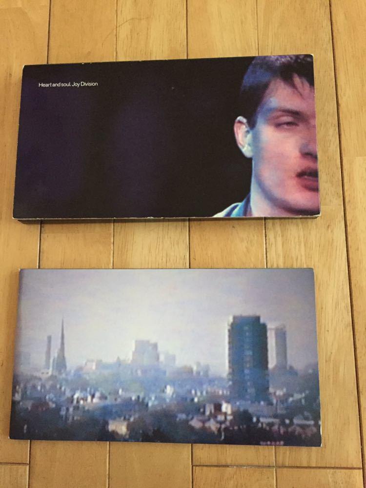 NEW ORDER 前身バンド Joy Division 4枚組 BOX SET Heart and Soul イアン・カーティス 貴重 12インチヴァージョン 未発表曲 ライブ音源_画像2
