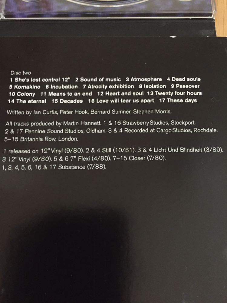 NEW ORDER 前身バンド Joy Division 4枚組 BOX SET Heart and Soul イアン・カーティス 貴重 12インチヴァージョン 未発表曲 ライブ音源_画像5