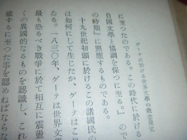 KB <ゲーテ> 木村謹治 八坂淺太郎 弘文堂書房 古本 古書_画像8