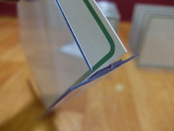 H251 カード立て 10枚セット メニュー立て メニュー置き 万能カード立て 飲食店 レストラン カフェ 喫茶店 テーブル カウンター 業務用_画像7