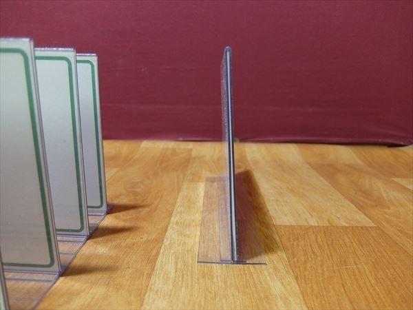H251 カード立て 10枚セット メニュー立て メニュー置き 万能カード立て 飲食店 レストラン カフェ 喫茶店 テーブル カウンター 業務用_画像6