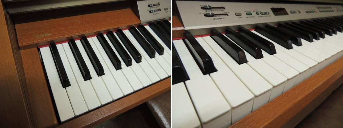 【発送不可/引取り限定】椅子付き YAMAHA ヤマハ 電子ピアノ YDP-223 イス付き【埼玉県】_画像3