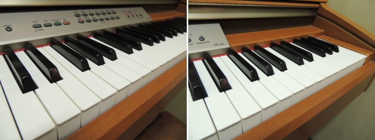 【発送不可/引取り限定】椅子付き YAMAHA ヤマハ 電子ピアノ YDP-223 イス付き【埼玉県】_画像4