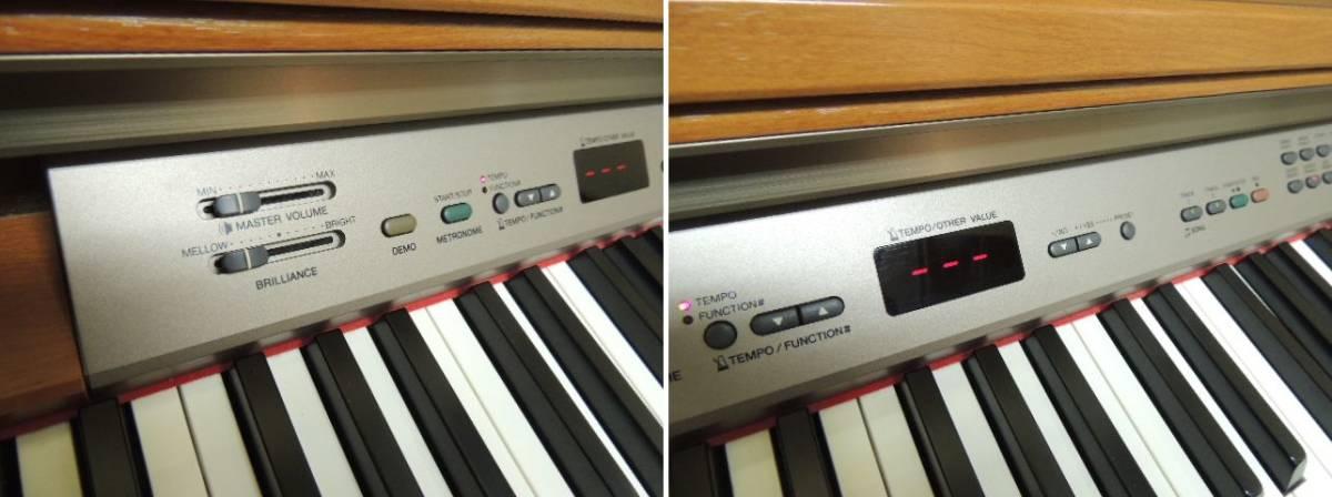 【発送不可/引取り限定】椅子付き YAMAHA ヤマハ 電子ピアノ YDP-223 イス付き【埼玉県】_画像5