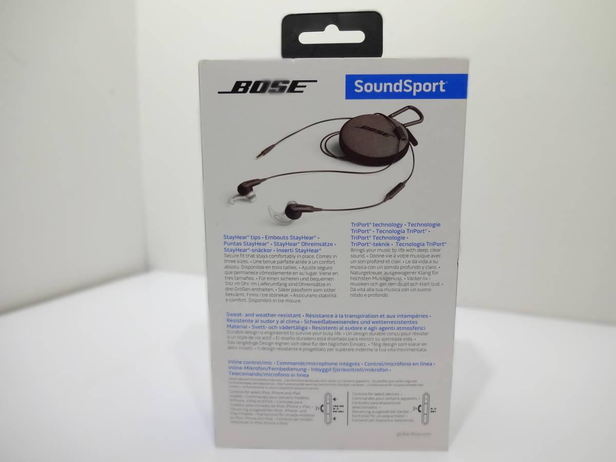 ★BOSE  SoundSport  スポーツイヤホン 741776-0010_画像7