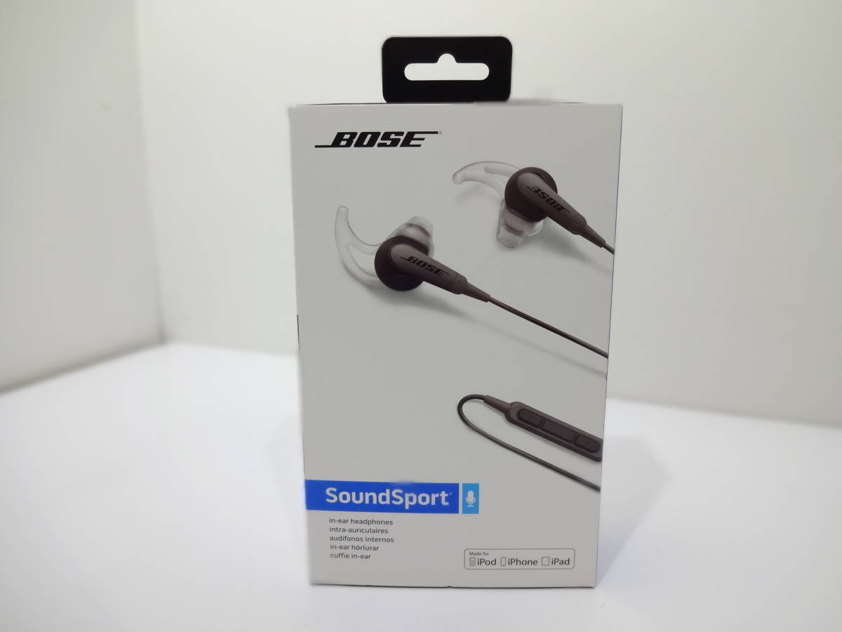 ★BOSE  SoundSport  スポーツイヤホン 741776-0010_画像6
