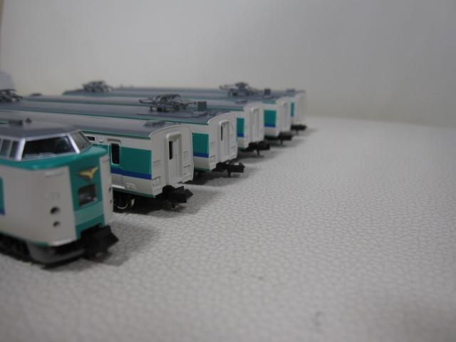 鉄道模型 TOMIX トミックス JR381系 特急電車(くろしお) 92727 基本セット + 92728 増結セット Nゲージ_画像6