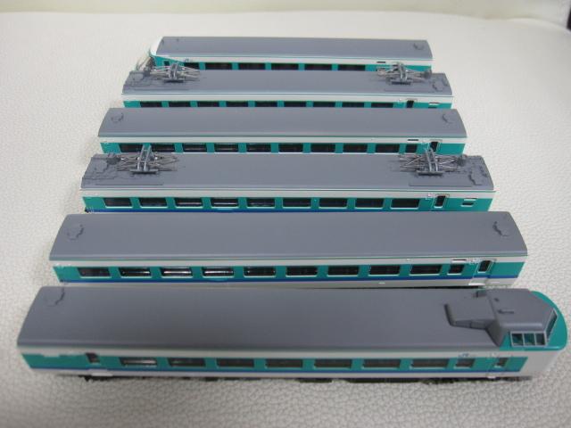 鉄道模型 TOMIX トミックス JR381系 特急電車(くろしお) 92727 基本セット + 92728 増結セット Nゲージ_画像3