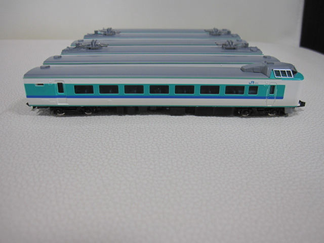 鉄道模型 TOMIX トミックス JR381系 特急電車(くろしお) 92727 基本セット + 92728 増結セット Nゲージ_画像4