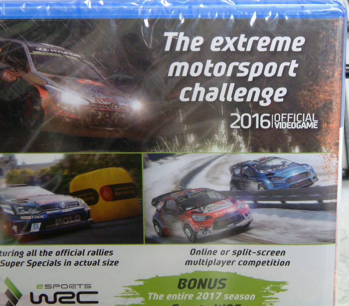 送料140円●新品訳アリ PS4 WRC 6 海外版 / FIAオフィシャル ラリー シム_画像4