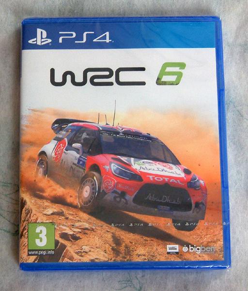送料140円●新品訳アリ PS4 WRC 6 海外版 / FIAオフィシャル ラリー シム