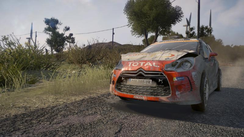 送料140円●新品訳アリ PS4 WRC 6 海外版 / FIAオフィシャル ラリー シム_画像5