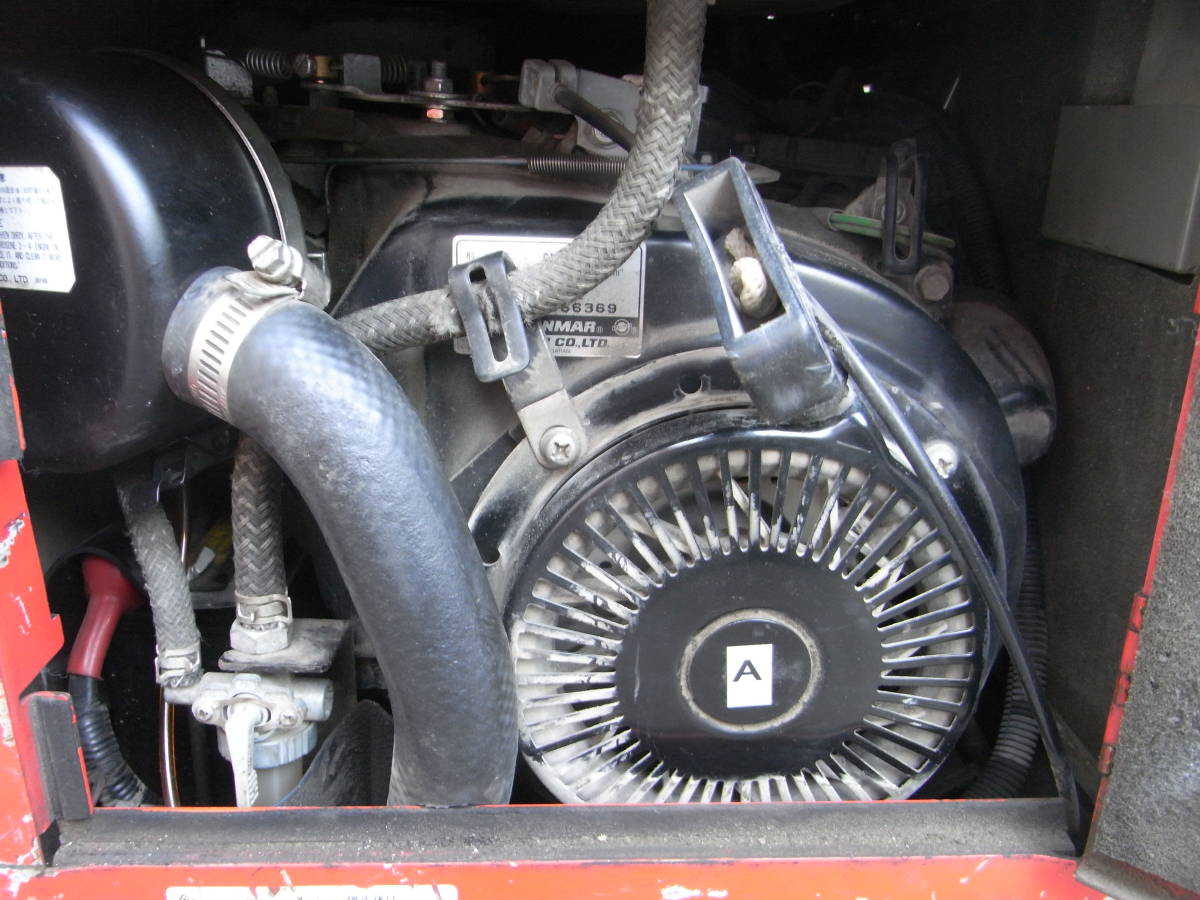 防音エンジン高圧洗浄機 圧力60kgf/cm2 スーパー工業 SEN-3006SS2 フルセット #1196/1215_画像10