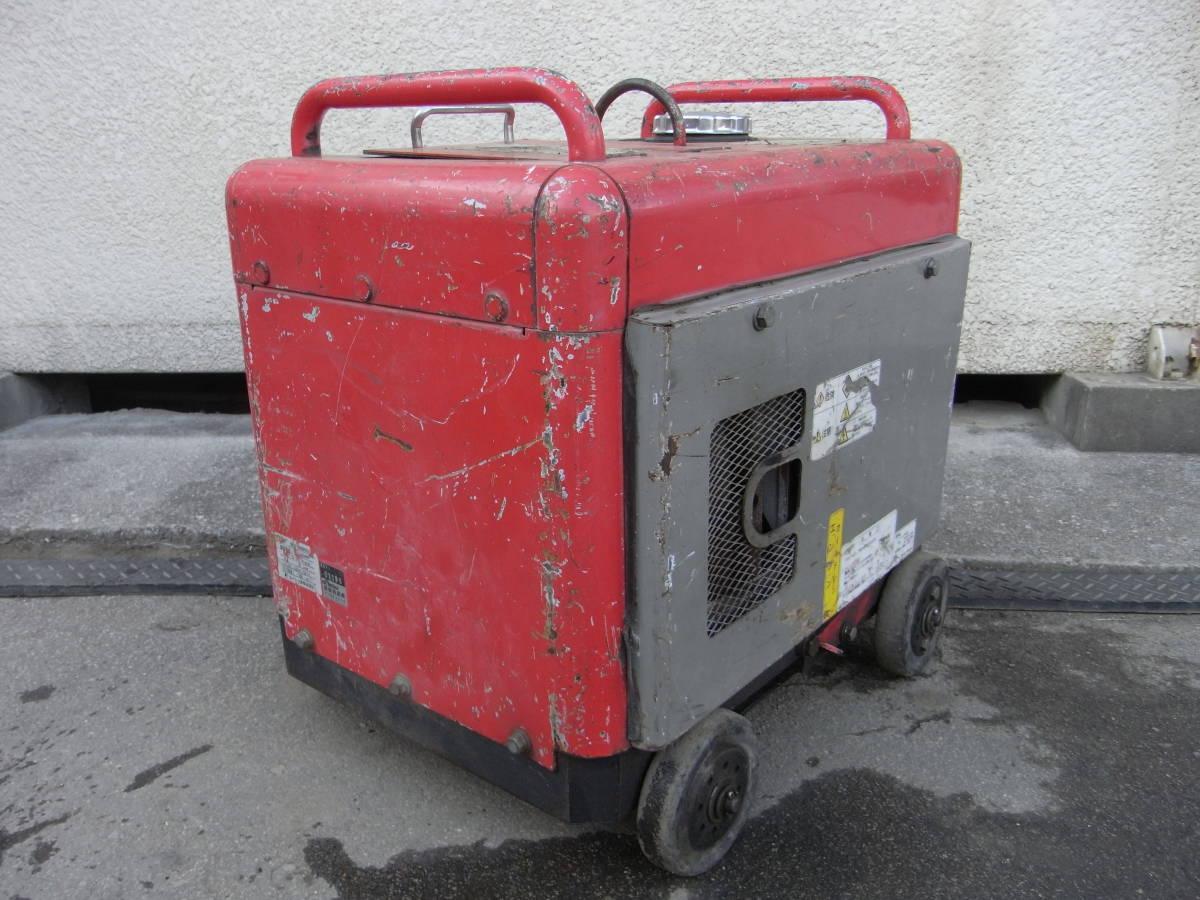 防音エンジン高圧洗浄機 圧力60kgf/cm2 スーパー工業 SEN-3006SS2 フルセット #1196/1215_画像3