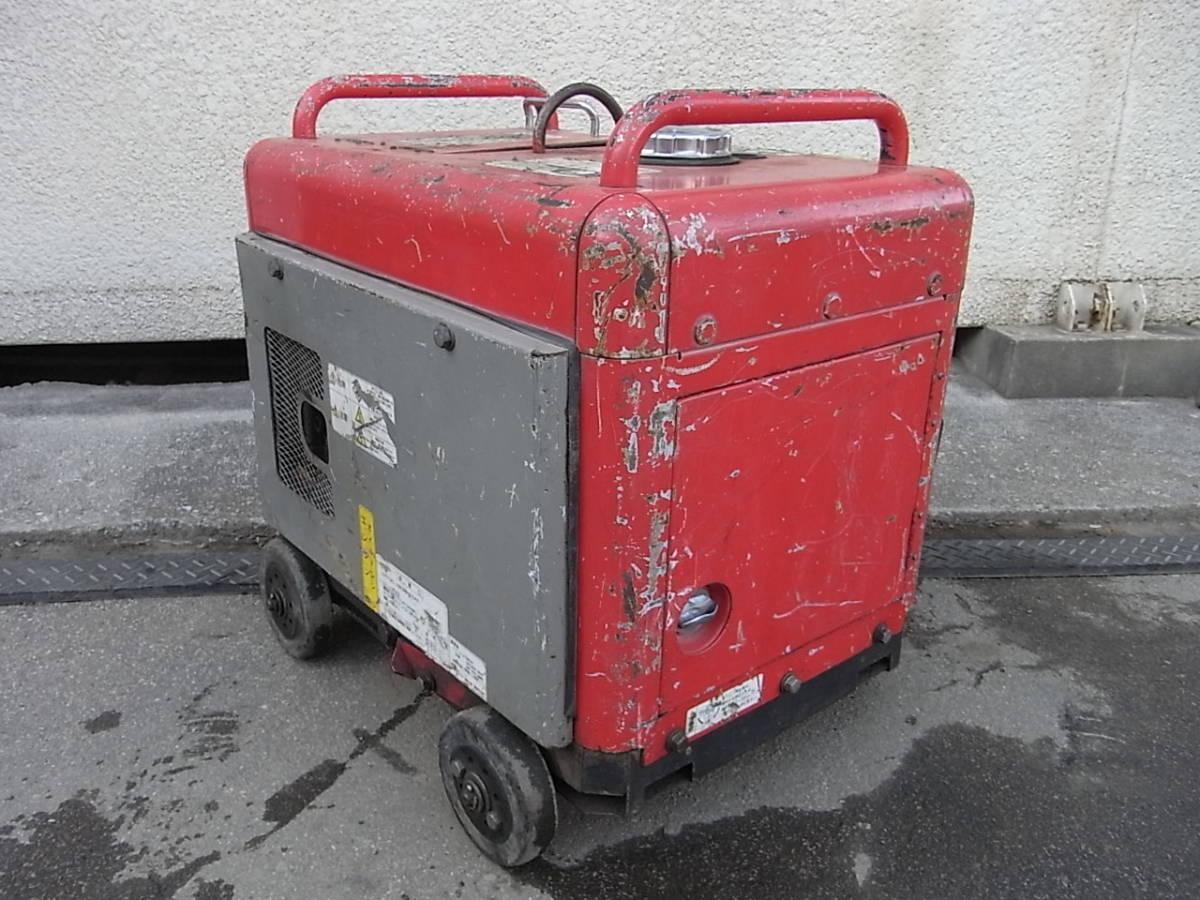 防音エンジン高圧洗浄機 圧力60kgf/cm2 スーパー工業 SEN-3006SS2 フルセット #1196/1215_画像4