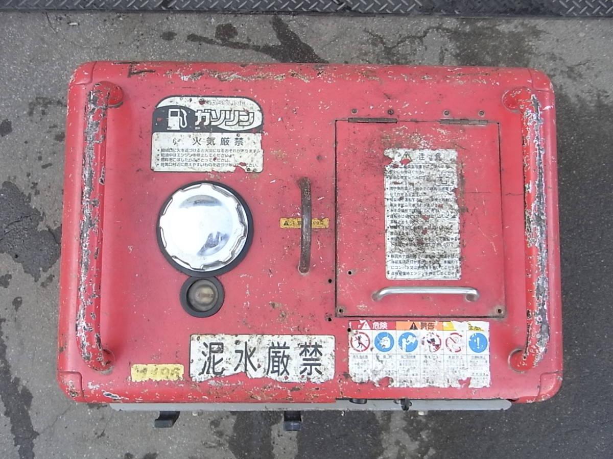 防音エンジン高圧洗浄機 圧力60kgf/cm2 スーパー工業 SEN-3006SS2 フルセット #1196/1215_画像6