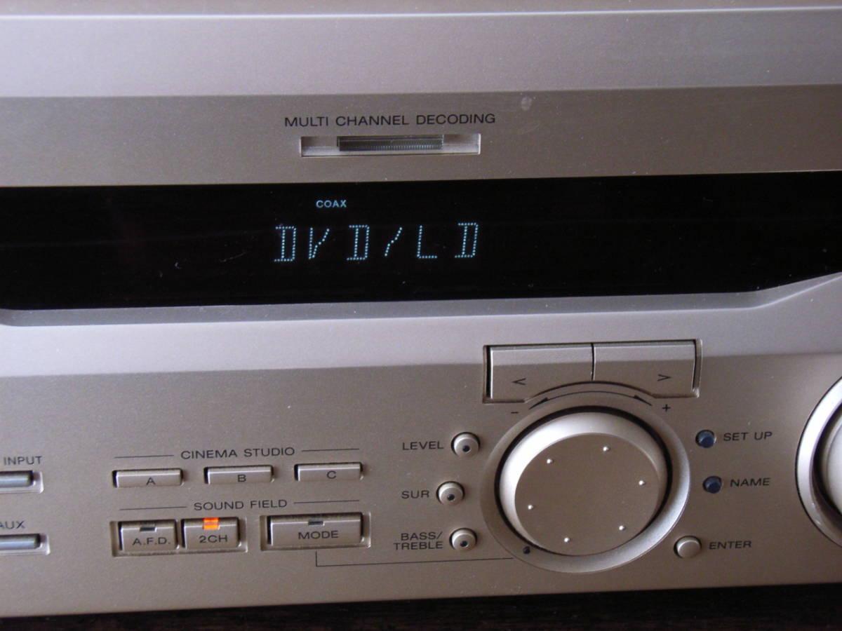 SONY ソニー AVアンプ STR-V535_画像3