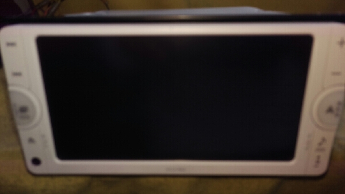 トヨタ純正ワンセグ内蔵SDナビ NSCP-W62 新品フィルムアンテナ Bluetooth機能_画像6