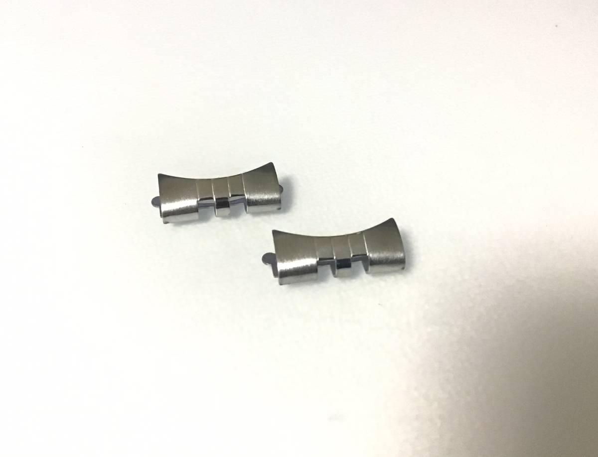 腕時計 修理交換部品 フラッシュフィット 555 ジュビリー 20mm シルバー ロレックス ROLEX 互換 FF555 社外品_画像2