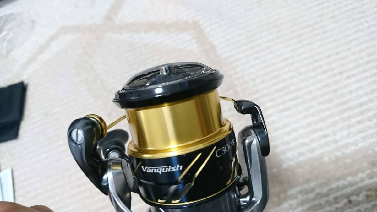シマノ 16 ヴァンキッシュ C3000SDH オーバーホール済み エギング 春イカに_画像6
