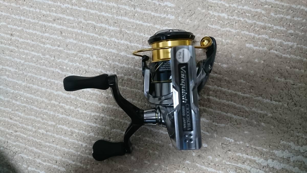 シマノ 16 ヴァンキッシュ C3000SDH オーバーホール済み エギング 春イカに_画像4