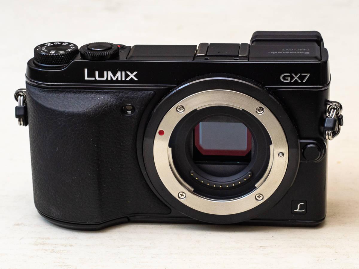 ★マイクロフォーサーズ入門に最適★ Panasonic DMC-GX7+LUMIX G 14mm F2.5 美品セット パナソニック_画像4