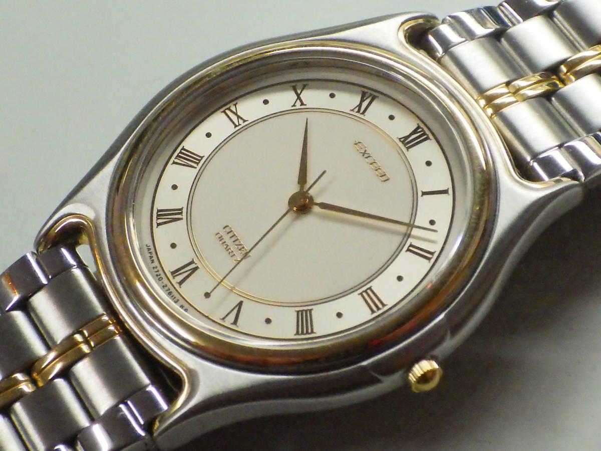 シチズン エクシード OH済み。メンズ・男性用クォーツ腕時計。EAA74-8626。_画像1