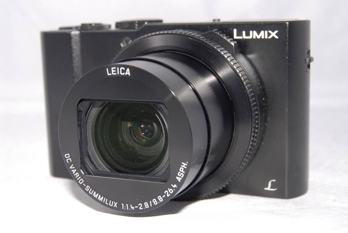 ★美品★Panasonic Lumix DMC-LX9 コンパクトデジタルカメラ 高画質 4K動画 WiFi LEICAレンズ フォーカス合成機能搭載