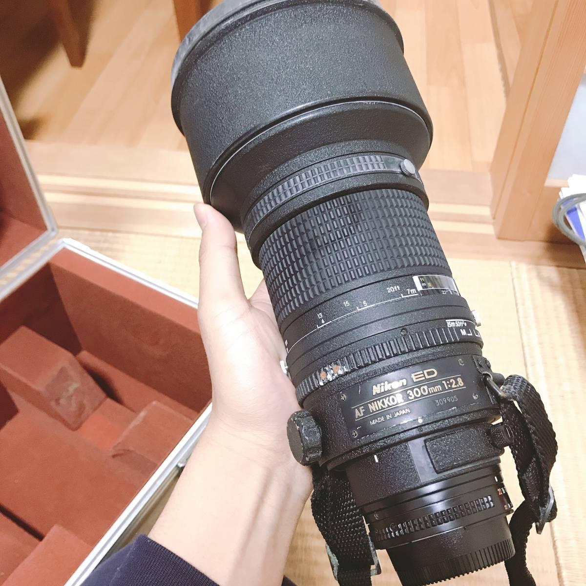 Nikon ED AF NIKKOR 300mm 1:2.8_画像5