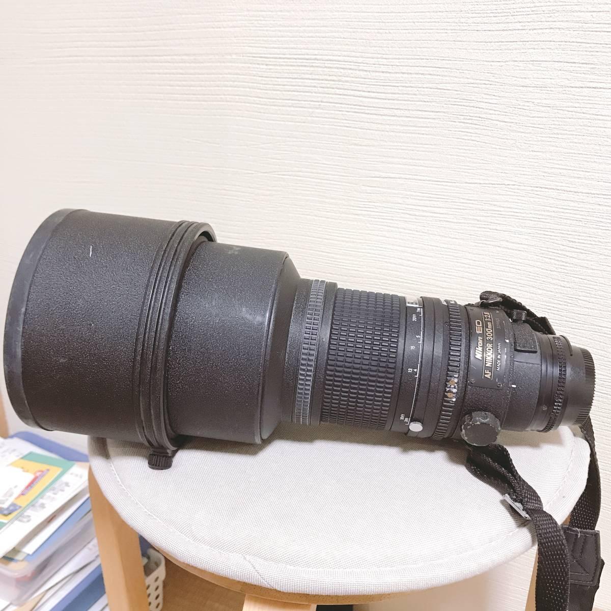 Nikon ED AF NIKKOR 300mm 1:2.8_画像3