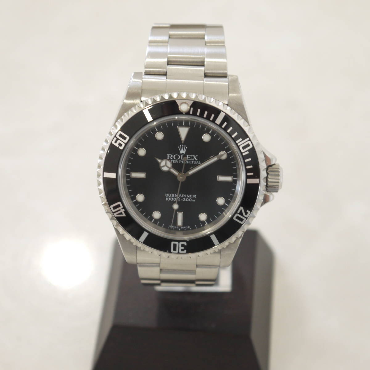 早い者勝ち!! 100%正規品 ROLEX ロレックス サブマリーナ メンズ 自動巻き 腕時計 オートマ 14060M ブラック 黒_画像3