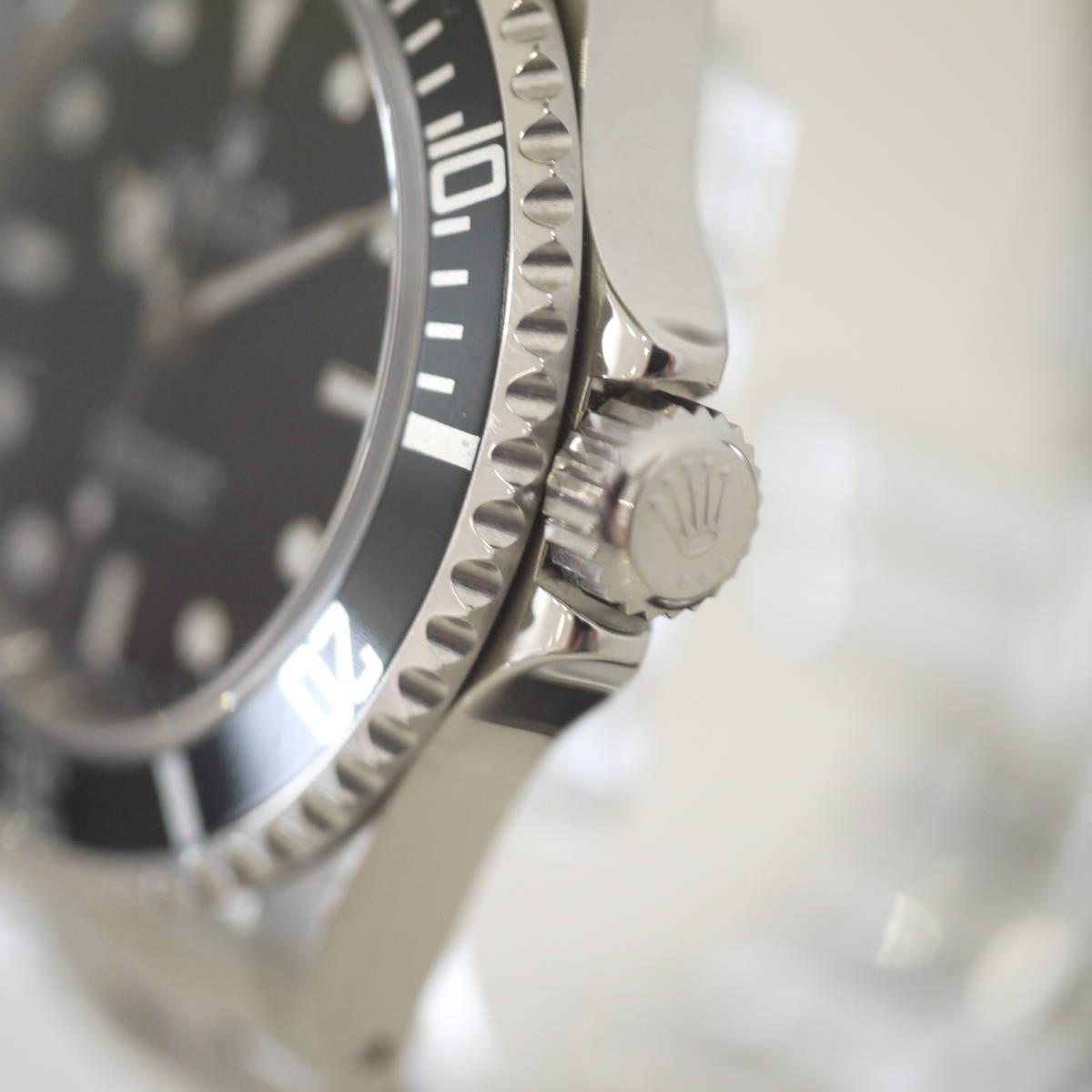 早い者勝ち!! 100%正規品 ROLEX ロレックス サブマリーナ メンズ 自動巻き 腕時計 オートマ 14060M ブラック 黒_画像5