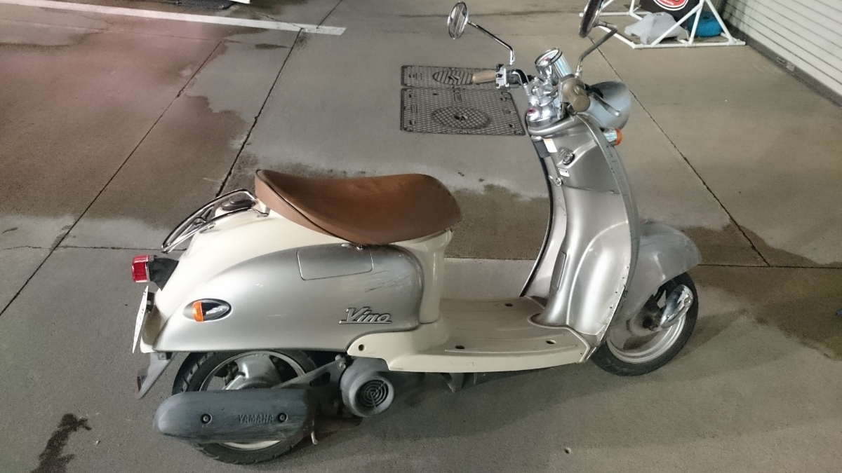 ヤマハビーノ♪2スト 希少 通勤 通学にいかがですか♪スクーター 原チャリ バイク 50cc♪_画像4
