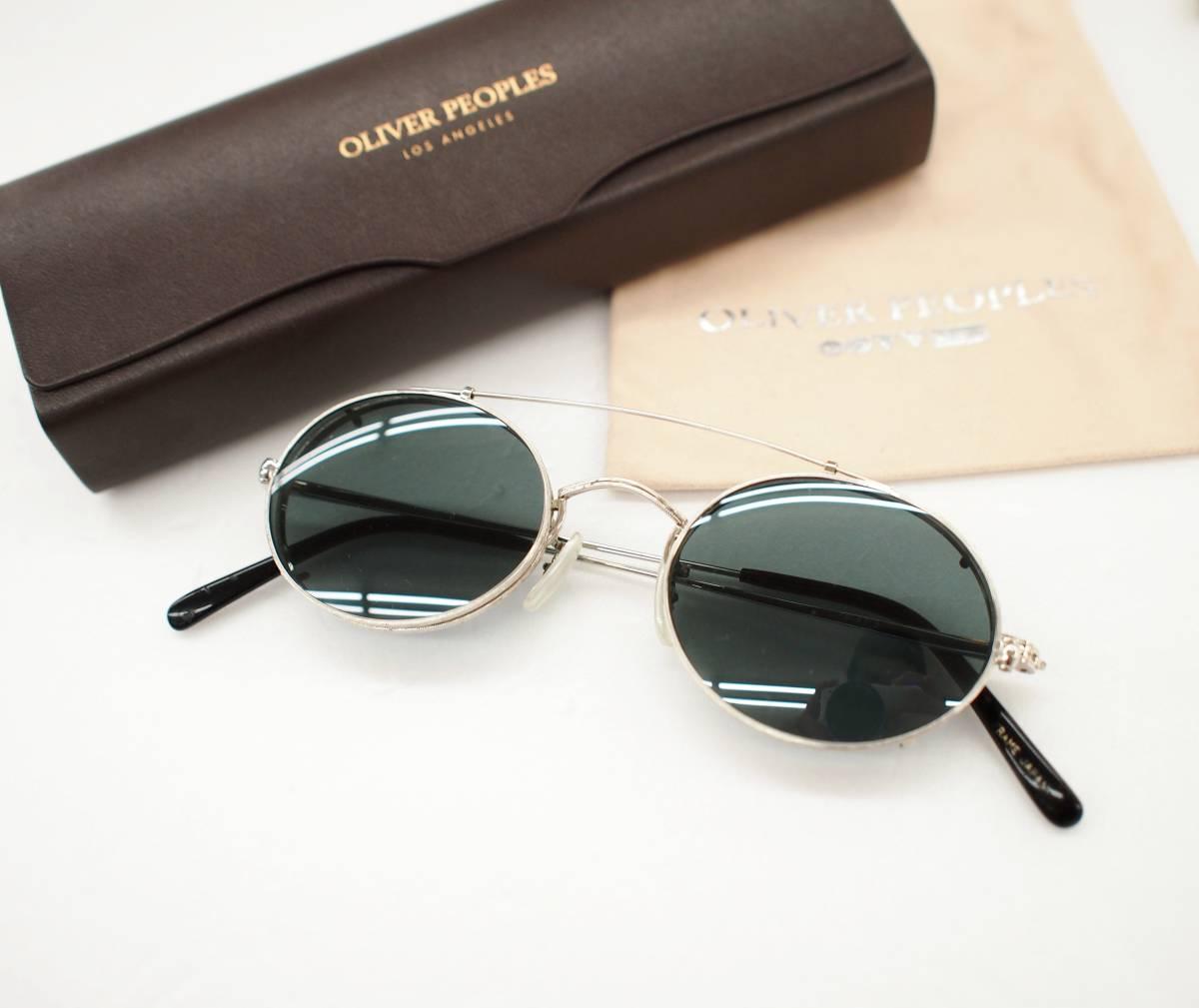 クリップオン付き OLIVER PEOPLES オリバーピープルズ OP-67 S 眼鏡 サングラス