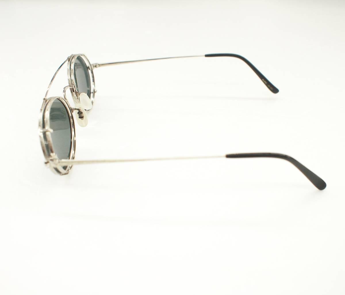 クリップオン付き OLIVER PEOPLES オリバーピープルズ OP-67 S 眼鏡 サングラス_画像7