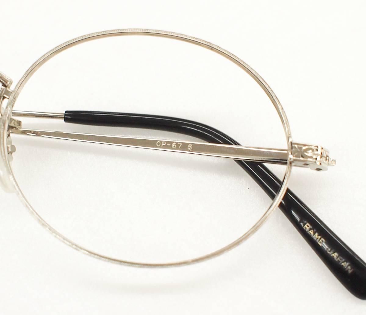 クリップオン付き OLIVER PEOPLES オリバーピープルズ OP-67 S 眼鏡 サングラス_画像3