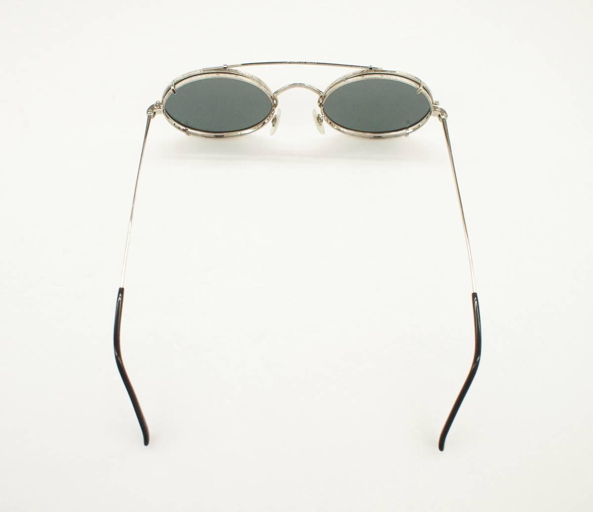 クリップオン付き OLIVER PEOPLES オリバーピープルズ OP-67 S 眼鏡 サングラス_画像6