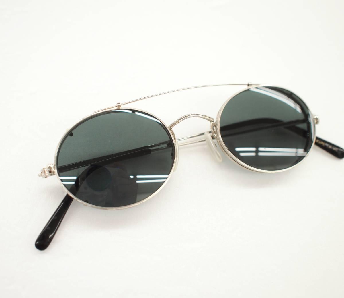 クリップオン付き OLIVER PEOPLES オリバーピープルズ OP-67 S 眼鏡 サングラス_画像8