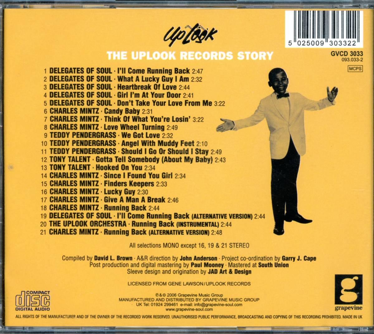 フィリーソウル■V.A. / THE UPLOOK RECORDS STORY (2007) 廃盤 レア音源多数収録!!_画像2