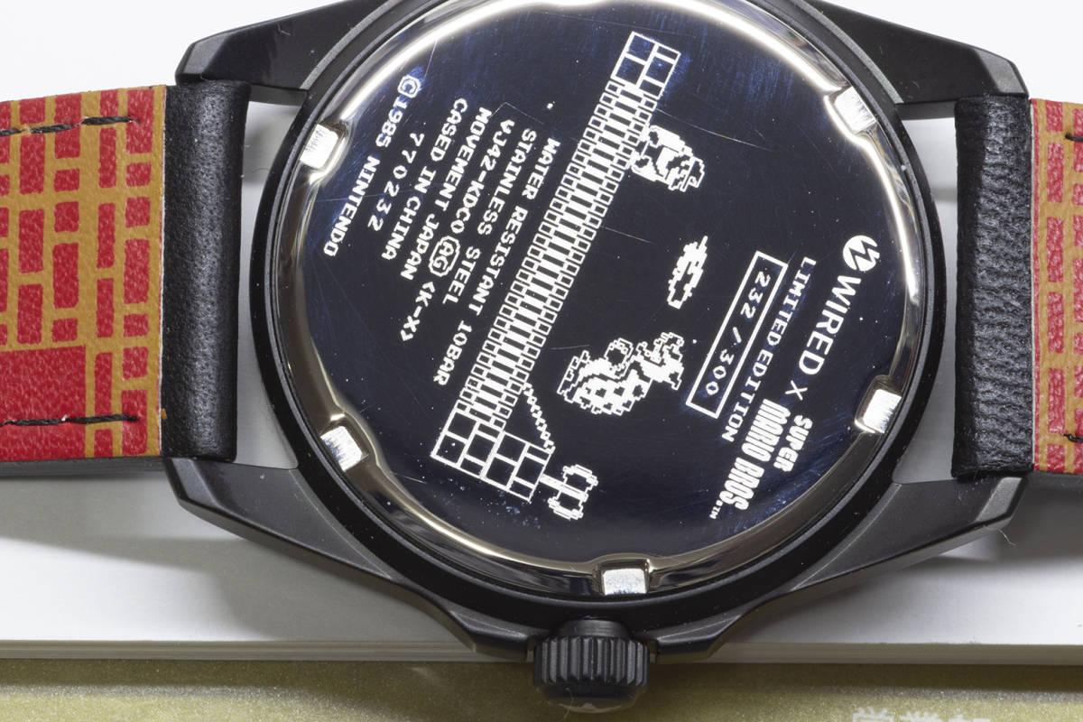 【質店】美品 セイコーワイアードXスーパーマリオブラザース300本限定モデル 232/300_画像4