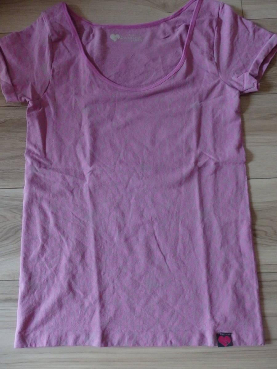 ヨガウェア/フィットネスエアロダンスストレッチ素材Tシャツ グレー