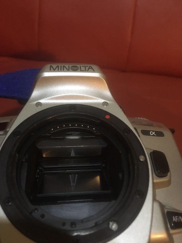 ★★ミノルタsweet S α SIGMAレンズ2本セット28-80mm、100-300mmセット!売り切り!激安スタート!ワンオーナー純正ストラップ付き!_画像7