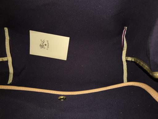IL BISONTE イルビゾンテ ショルダー付 キャンバストートバッグ(L1173)_画像6