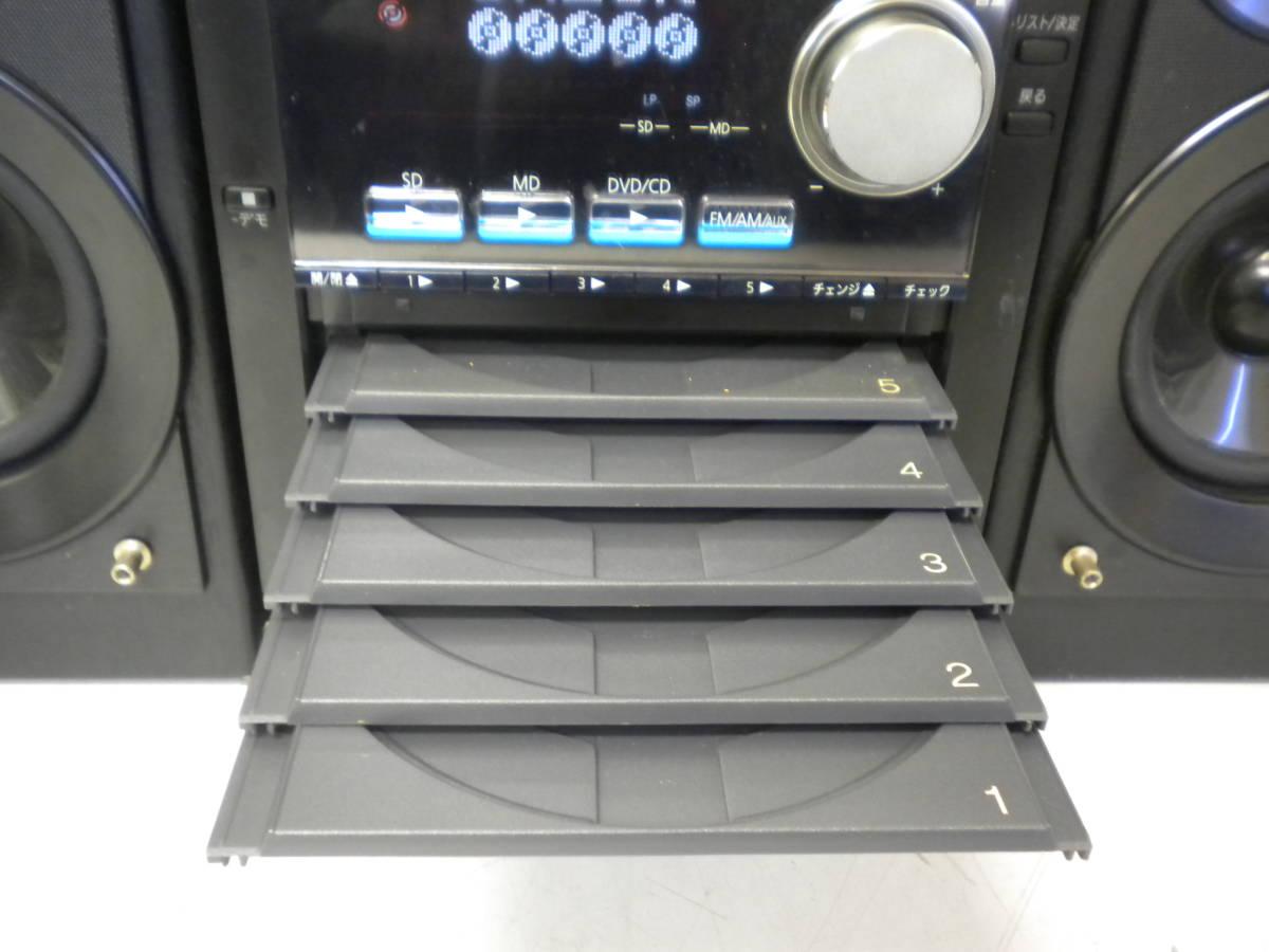 あ907 panasonic SA-PM930DVD/SBPM930 DVD/SDステレオシステム コンポ 連_画像4